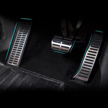 Алуминиеви спортни педали за VW Jetta MK5 Golf 5 6 Scirocco Tiguan Skoda Octavia A5