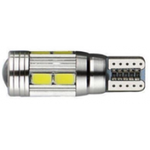 CANBUS LED ЛАМПА ТИП T10-10 smd 5630 + лупа